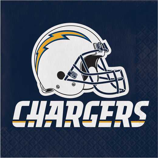 DTC669526NAP: CC Los Angeles Chargers Napkins