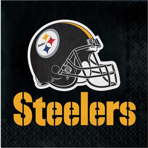DTC669525NAP: CC Pittsburgh Steelers Napkins