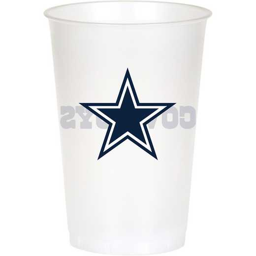 DTC019509TUMB: CC Dallas Cowboys Plastic Cups