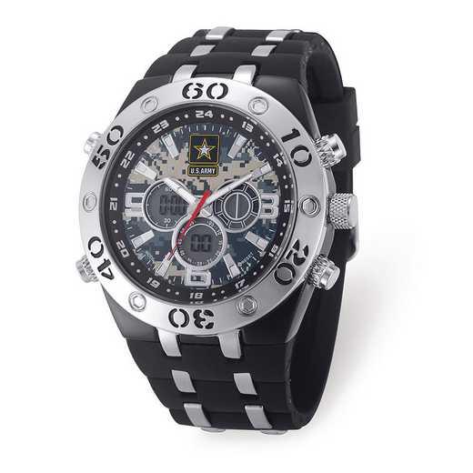 XWA6161: US Army Camo Dial Chronograph Watch