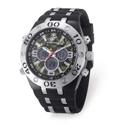 XWA6164: US Marine Corps Camo Dial Chronograph Watch