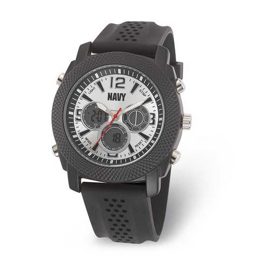 XWA6019: US Navy Armor C21 Silicone - Silver Dial Ana-Digital Watch