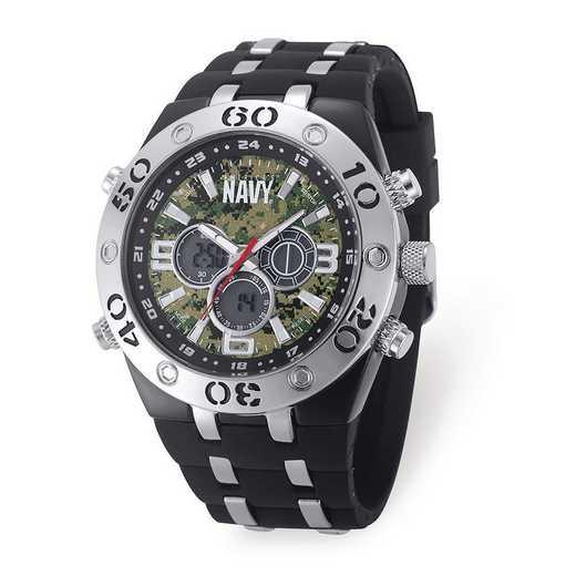 XWA6162: US Navy Camo Dial Chronograph Watch