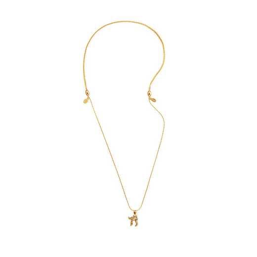 A18CHAI02RG: Chai Expandable Necklace - Rafaelian Gold Finish