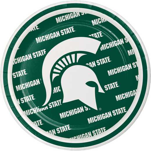 DTC414716PLT: CC Michigan State University Dessert Plates - 24 Count