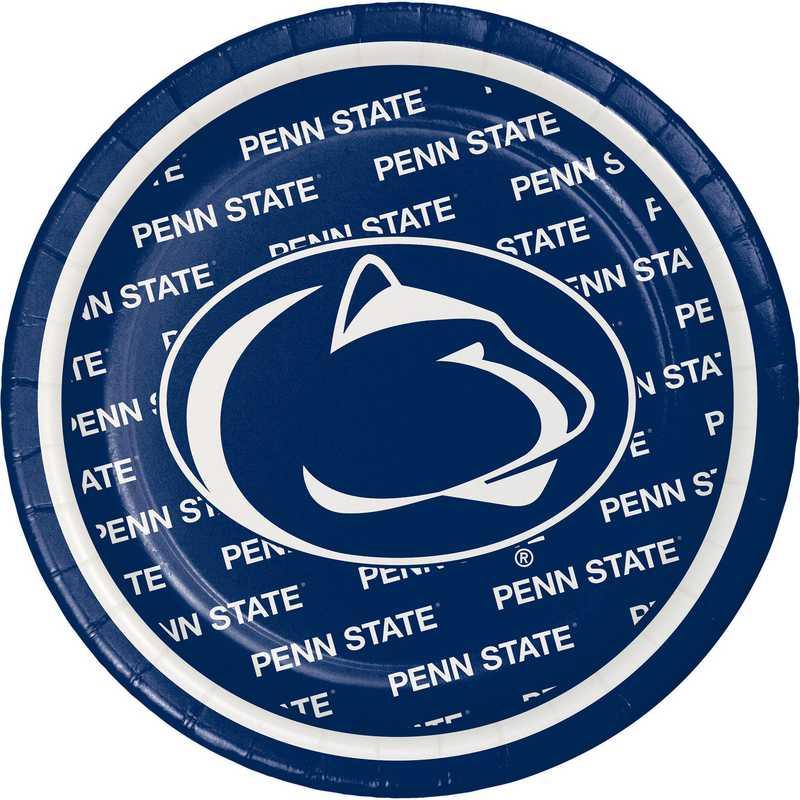 9f24174923c79a DTC414729PLT: CC Penn State University Dessert Plates - 24 Count
