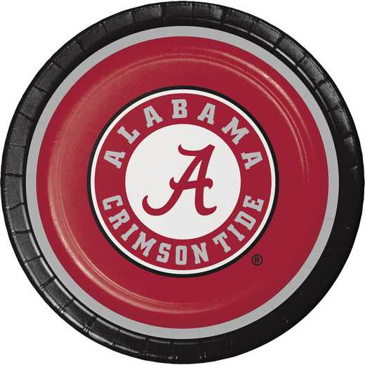 DTC420697DPLT: CC University of Alabama Paper Plates - 24 Count
