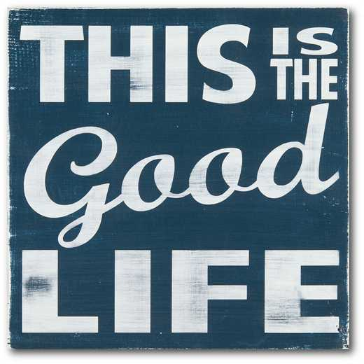 WEB-FF1321-16x16: CM The Good Life Canvas , 16x16