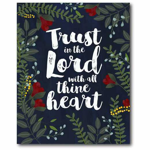 WEB-IF187-16x20: CM Trust Floral Canvas   Canvas  - 16x20