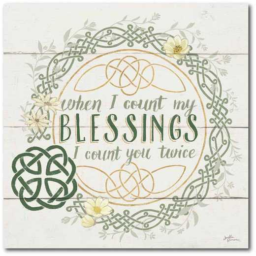 WEB-IR151-16x16: CM Irish Blessing II  Canvas  - 16x16