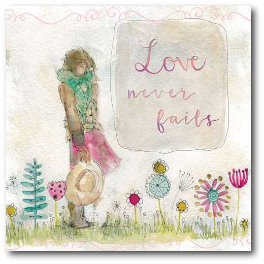 WEB-T833-16x16: CM Sketchbook Love  Canvas  - 16x16