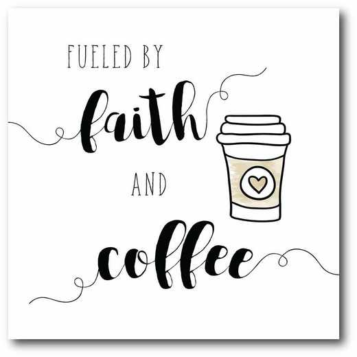 WEB-T835-16x16: CM Faith and Coffee  Canvas  - 16x16