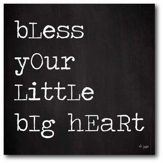 WEB-T931-16x16: CM Bless your little heart  Canvas  - 16x16