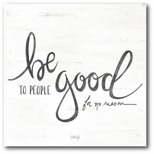 WEB-T939-16x16: CM Be Good  Canvas  - 16x16