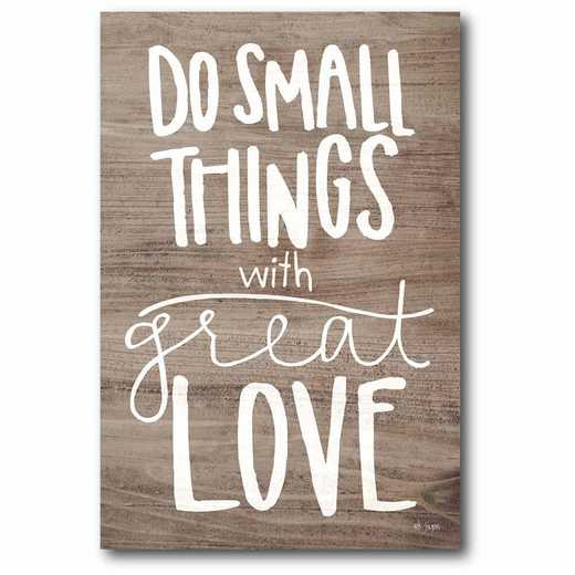 WEB-T944-12x18: CM Do Small things  Canvas  - 12x18