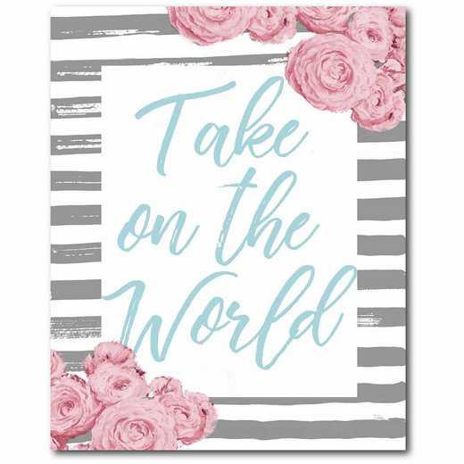WEB-TS274-16x20: CM Take on the World  Canvas  - 16x20