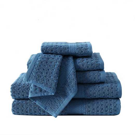 AST-TWL-6PCS-I2-BLUE: VCNY Blue 6 Piece Towel Set