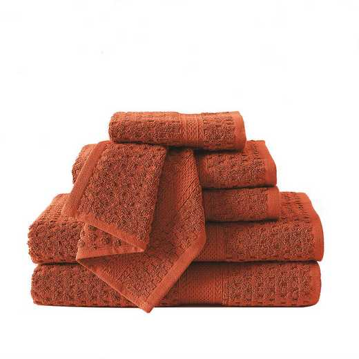 AST-TWL-6PCS-I2-ORANG: VCNY Orange 6 Piece Towel Set