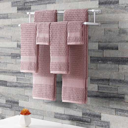 AST-TWL-6PCS-I2-ROSE: VCNY Rose 6 Piece Towel Set