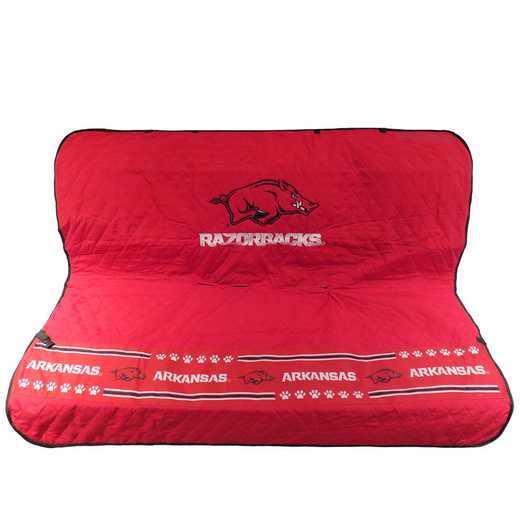 ARK-3177: ARKANSAS RAZORBACKS CAR SEAT COVER