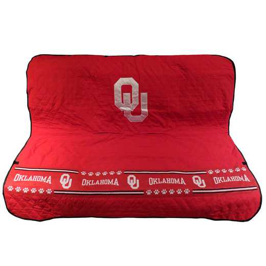 OK-3177: OKLAHOMA SOONERS CAR SEAT COVER