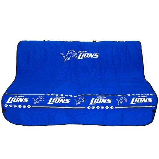 DET-3177: DETROIT LIONS CAR SEAT COVER