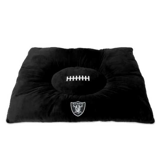 OAK-3188: OAKLAND RAIDERS PILLOW BED