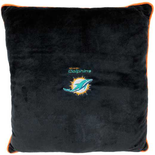 DOL-3195: MIAMI DOLPHINS PILLOW