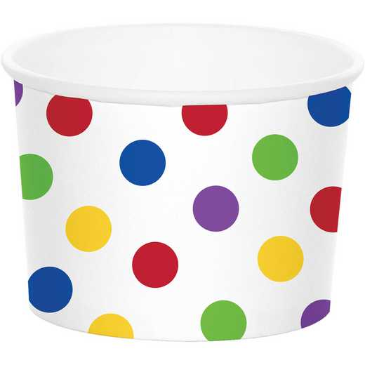 DTC329640TRT: CC Multicolor Dot Treat Cups