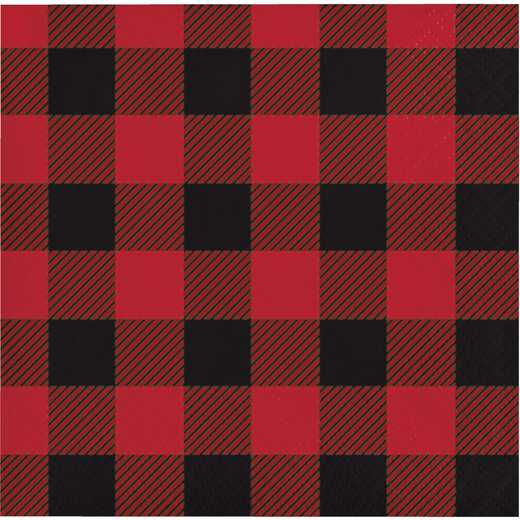 DTC321822BNAP: CC Buffalo Plaid Beverage Napkins