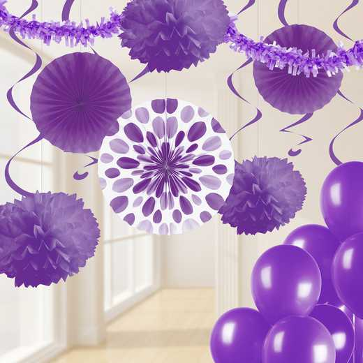 DTCAMYTH1A: CC Amethyst Purple Party Decorations Kit