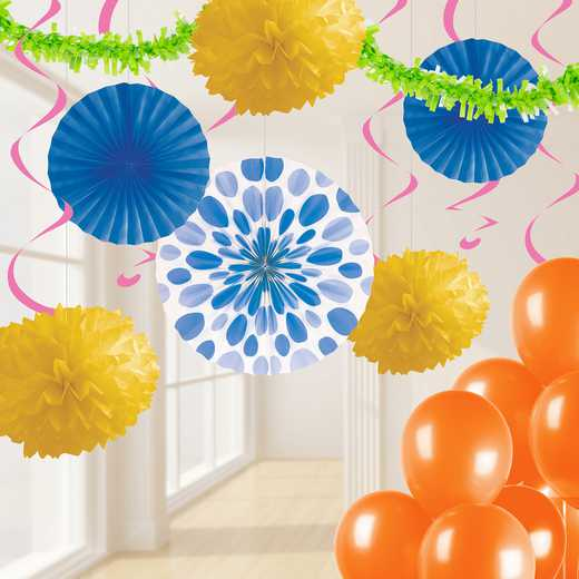 DTCBRGHT1A: CC Bright Party Decorations Kit