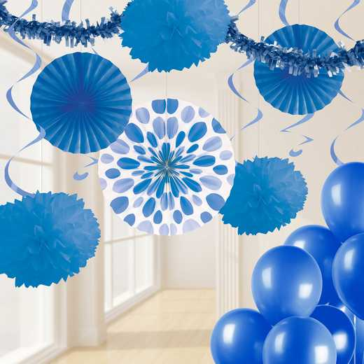 DTCCOBLT1A: CC Cobalt Blue Party Decorations Kit