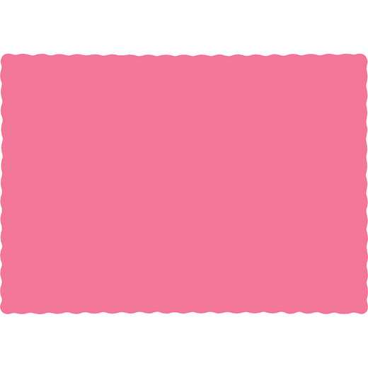 863042B: CC Candy Pink Placemats - 50 Cnt