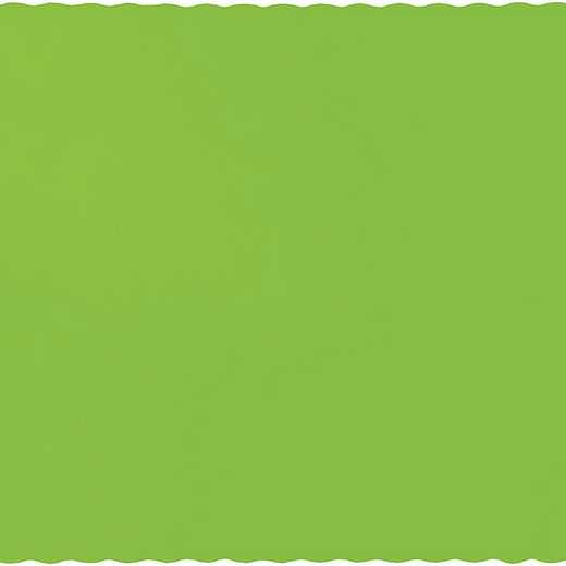 863123B: CC Fresh Lime Green Placemats - 50 Cnt