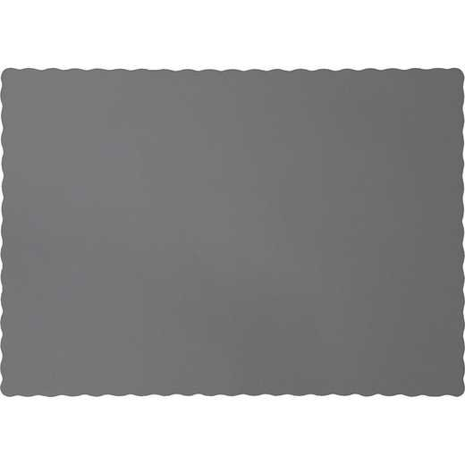 339654: CC Glamour Gray Placemats - 50 Cnt