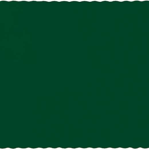 863124B: CC Hunter Green Placemats - 50 Cnt