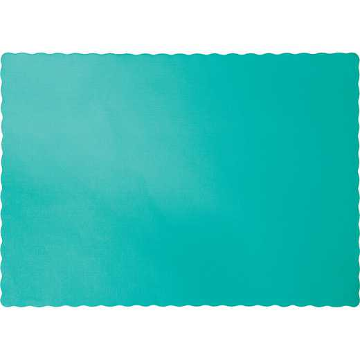 324762: CC Teal Lagoon Placemats - 50 Cnt