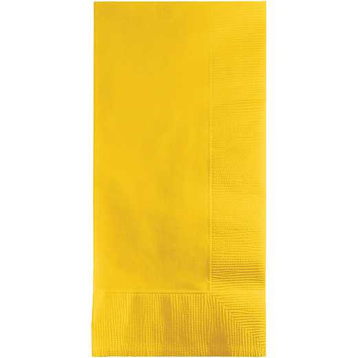 671021B: CC School Bus Yellow Din Napkins - 50 Cnt