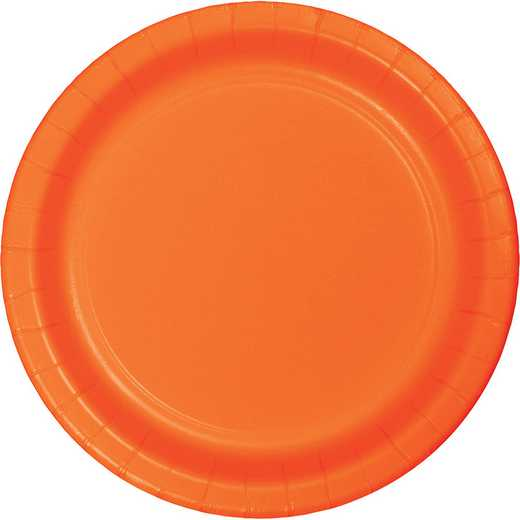 50191B: CC Sunkissed Org Banquet Plates - 24 Cnt