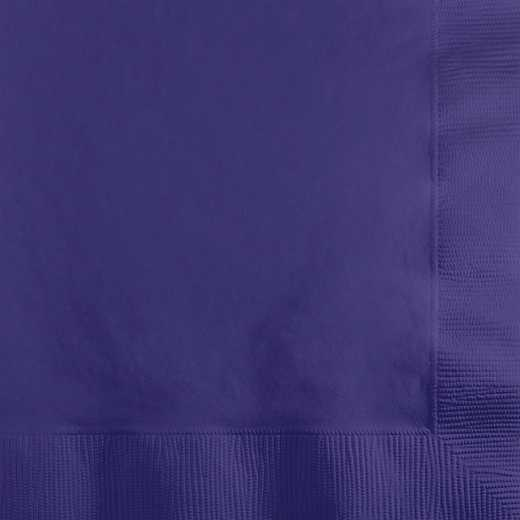 259115: CC Purple Beverage Napkins 200 Cnt