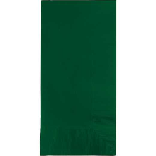 273124: CC Hunter Green Din Napkins - 100 Cnt