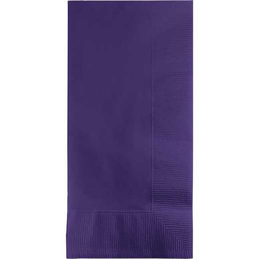 279115: CC Purple Din Napkins - 100 Cnt