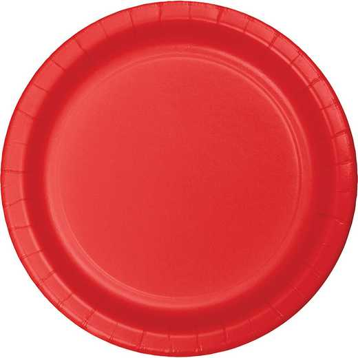 483548B: CC Classic Red Paper Plates - 75 Cnt