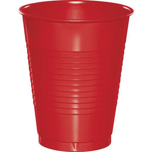 28103181B: CC Red 16 oz Plastic Cups - 50 Cnt