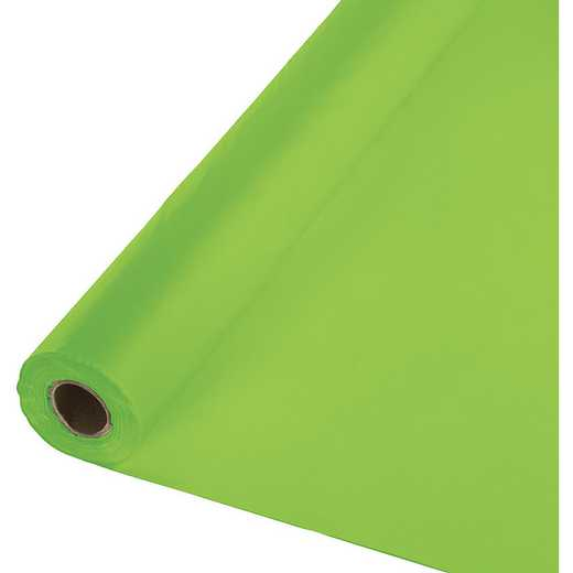 763123: CC Lime Green Plastic Banq Roll -100'