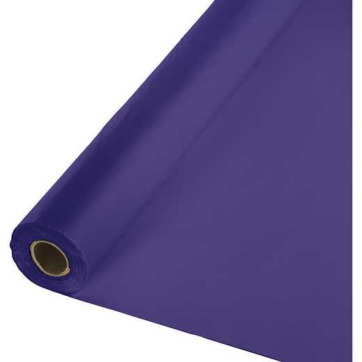 013016: CC Purple Plastic Banq Roll -100'