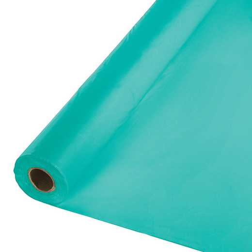 324763: CC Teal Lagoon Banq Table Roll -100'