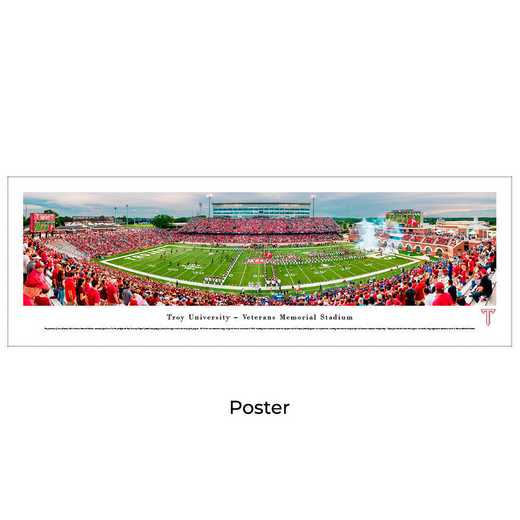 TROY1: Troy Trojans Football #1, Unframed Poster