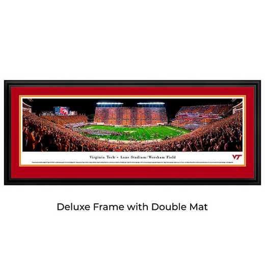 VAT4D: Virginia Tech Hokies Football #4 - Stadium Stripe  - Deluxe
